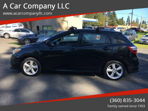 2009 Toyota Matrix for sale at A Car Company LLC in Washougal WA