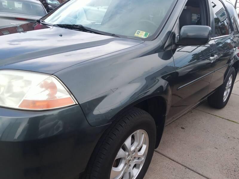 2003 Acura MDX for sale at K J AUTO SALES in Philadelphia PA