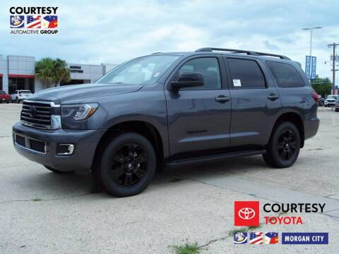 2020 Toyota Sequoia for sale at Courtesy Toyota & Ford in Morgan City LA