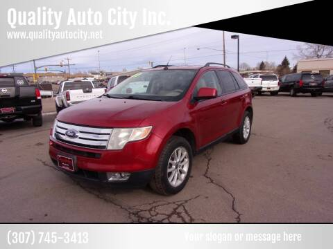 2007 Ford Edge for sale at Quality Auto City Inc. in Laramie WY