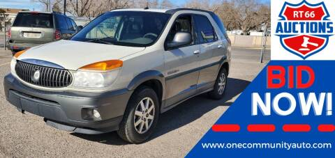 2003 Buick Rendezvous for sale at One Community Auto LLC in Albuquerque NM