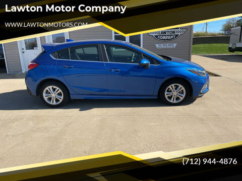 2018 Chevrolet Cruze for sale at Lawton Motor Company in Lawton IA