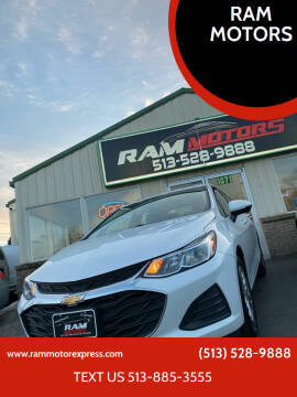 2019 Chevrolet Cruze for sale at RAM MOTORS in Cincinnati OH