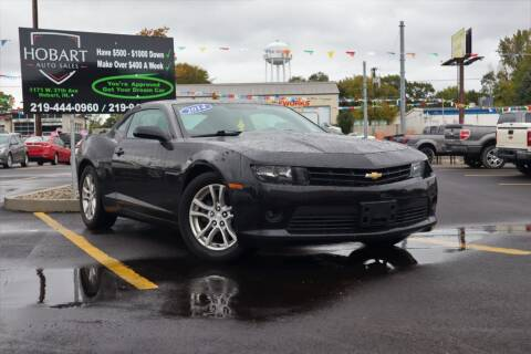 2014 Chevrolet Camaro for sale at Hobart Auto Sales in Hobart IN