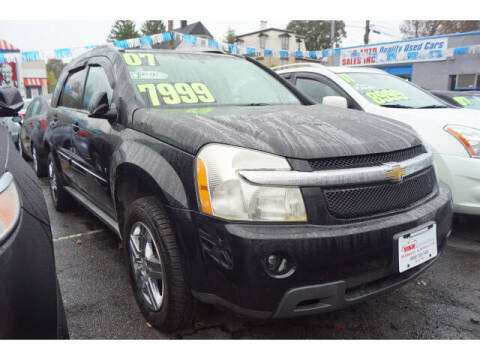 2007 Chevrolet Equinox for sale at M & R Auto Sales INC. in North Plainfield NJ