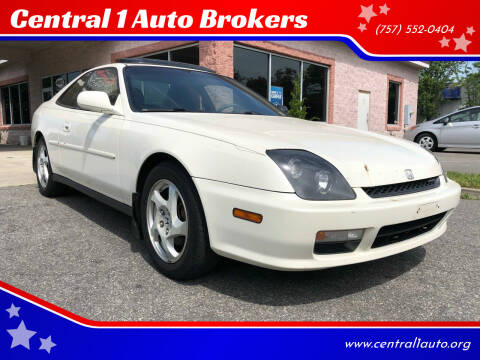2001 Honda Prelude for sale at Central 1 Auto Brokers in Virginia Beach VA