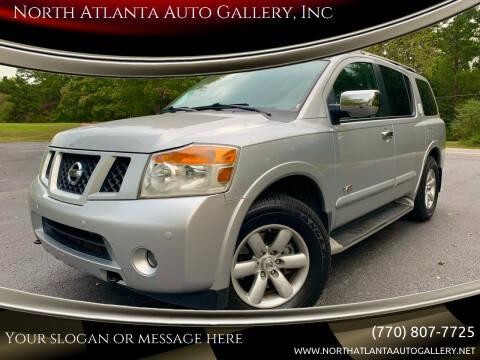 2009 Nissan Armada for sale at North Atlanta Auto Gallery, Inc in Alpharetta GA