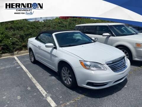 2013 Chrysler 200 Convertible for sale at Herndon Chevrolet in Lexington SC