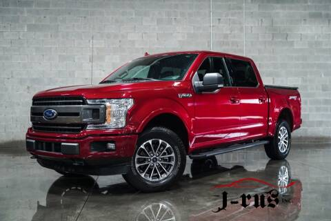 2018 Ford F-150 for sale at J-Rus Inc. in Macomb MI