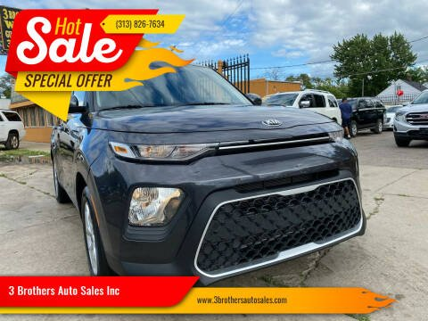 2021 Kia Soul for sale at 3 Brothers Auto Sales Inc in Detroit MI