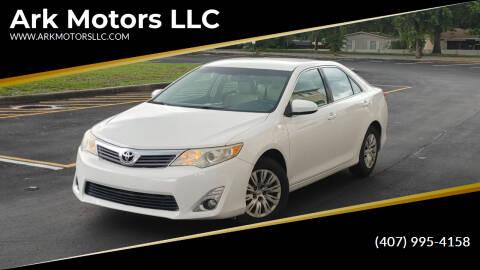 2014 Toyota Camry for sale at Ark Motors LLC in Winter Springs FL