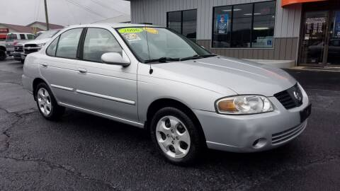 2006 Nissan Sentra for sale at Moores Auto Sales in Greeneville TN