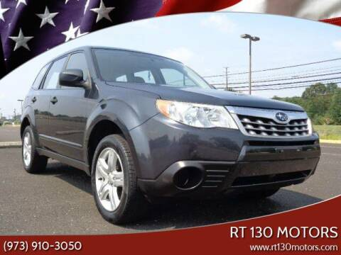 2013 Subaru Forester for sale at RT 130 Motors in Burlington NJ
