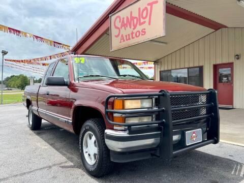1998 Chevrolet C/K 1500 Series for sale at Sandlot Autos in Tyler TX