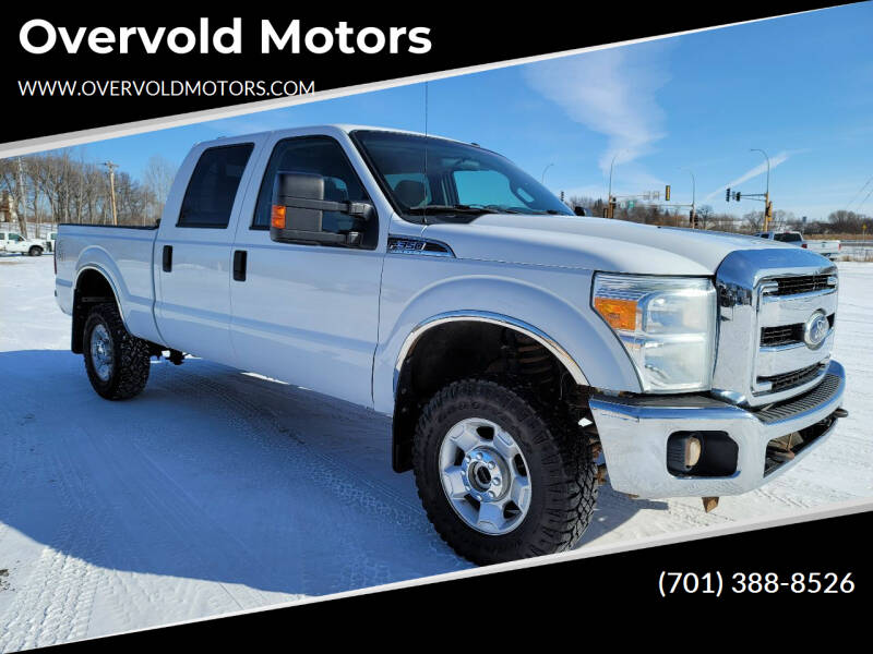 2011 Ford F-350 Super Duty for sale at Overvold Motors in Detroit Lakes MN