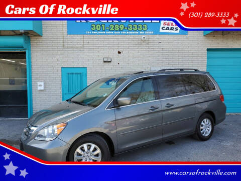 2008 Honda Odyssey for sale at Cars Of Rockville in Rockville MD