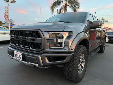 2018 Ford F-150 for sale at CARSTER in Huntington Beach CA