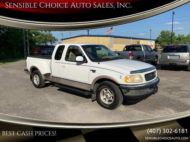 1997 Ford F-150 for sale at Sensible Choice Auto Sales, Inc. in Longwood FL
