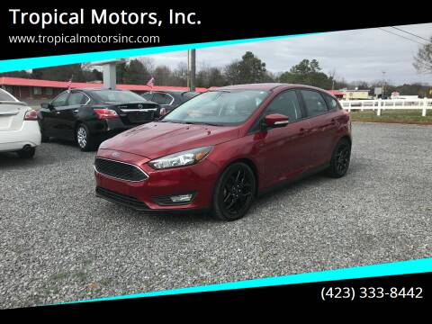 2016 Ford Focus for sale at Tropical Motors, Inc. in Riceville TN