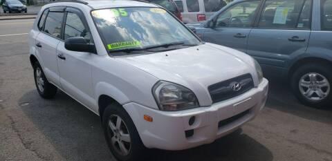 2005 Hyundai Tucson for sale at TC Auto Repair and Sales Inc in Abington MA