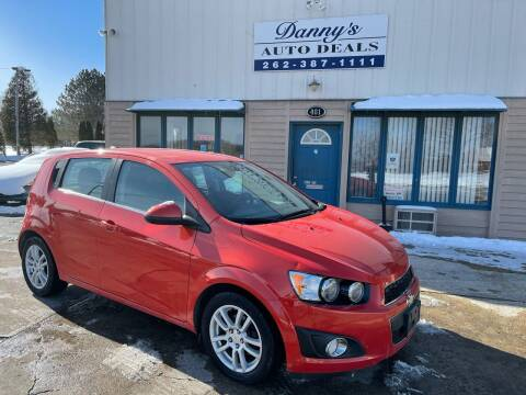 2012 Chevrolet Sonic for sale at Danny's Auto Deals in Grafton WI