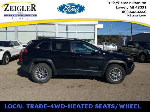 2020 Jeep Cherokee for sale at Zeigler Ford of Plainwell- michael davis in Plainwell MI