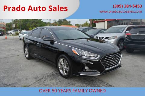 2018 Hyundai Sonata for sale at Prado Auto Sales in Miami FL