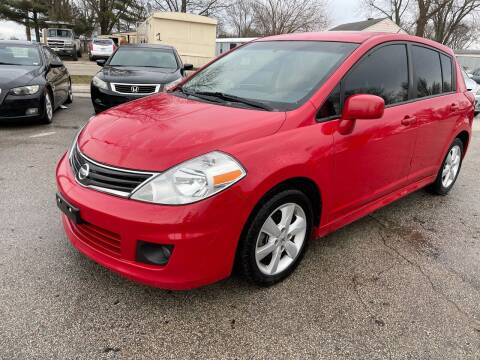 2010 Nissan Versa for sale at STL Automotive Group in O'Fallon MO