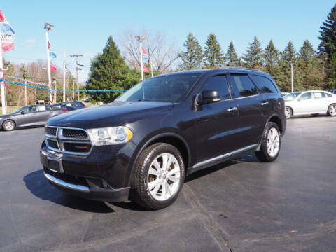 2013 Dodge Durango for sale at Patriot Motors in Cortland OH