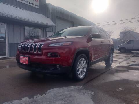 2017 Jeep Cherokee for sale at Habhab's Auto Sports & Imports in Cedar Rapids IA