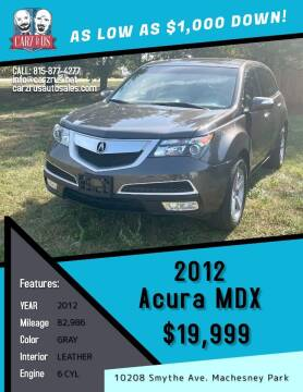 2012 Acura MDX for sale at Carz R Us in Machesney Park IL