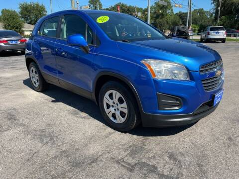 2015 Chevrolet Trax for sale at QUALITY PREOWNED AUTO in Houston TX