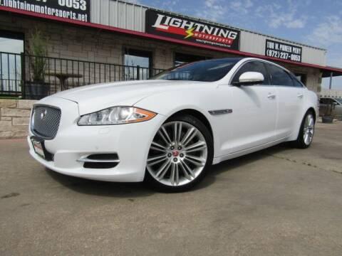 2015 Jaguar XJL for sale at Lightning Motorsports in Grand Prairie TX