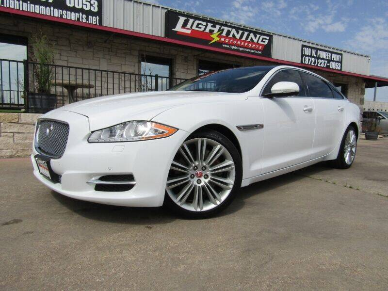2015 Jaguar XJL for sale at Lightning Motorsports in Grand Prairie TX