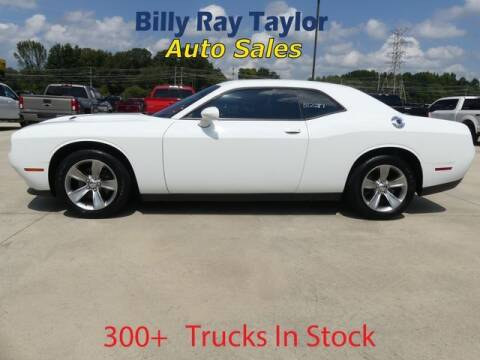 2016 Dodge Challenger for sale at Billy Ray Taylor Auto Sales in Cullman AL