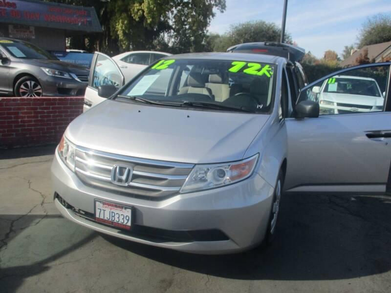 2012 Honda Odyssey for sale at Quick Auto Sales in Modesto CA