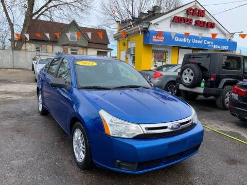 2011 Ford Focus for sale at C & M Auto Sales in Detroit MI