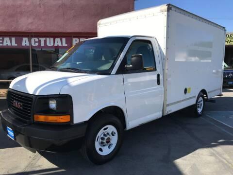 2012 GMC Savana Cutaway for sale at Sanmiguel Motors in South Gate CA