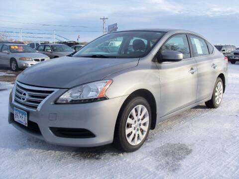 2013 Nissan Sentra for sale at Country Side Car Sales in Elk River MN