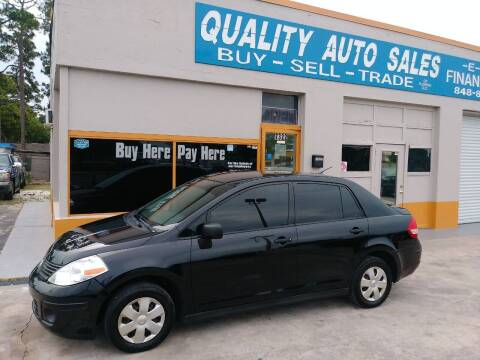 2011 Nissan Versa for sale at QUALITY AUTO SALES OF FLORIDA in New Port Richey FL