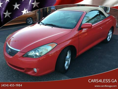 2006 Toyota Camry Solara for sale at Cars4Less GA in Alpharetta GA