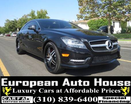 2014 Mercedes-Benz CLS for sale at European Auto House in Los Angeles CA