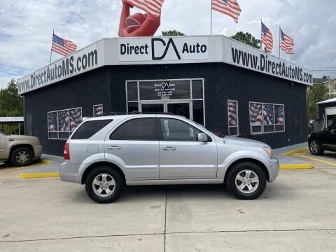 2007 Kia Sorento for sale at Direct Auto in D'Iberville MS