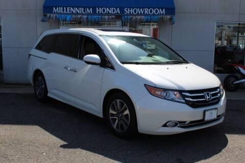 2017 Honda Odyssey for sale at MILLENNIUM HONDA in Hempstead NY