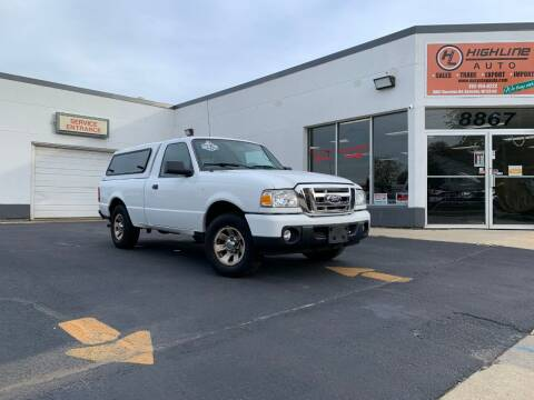 2011 Ford Ranger for sale at HIGHLINE AUTO LLC in Kenosha WI