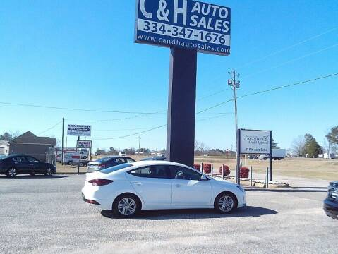 2020 Hyundai Elantra for sale at C & H AUTO SALES WITH RICARDO ZAMORA in Daleville AL