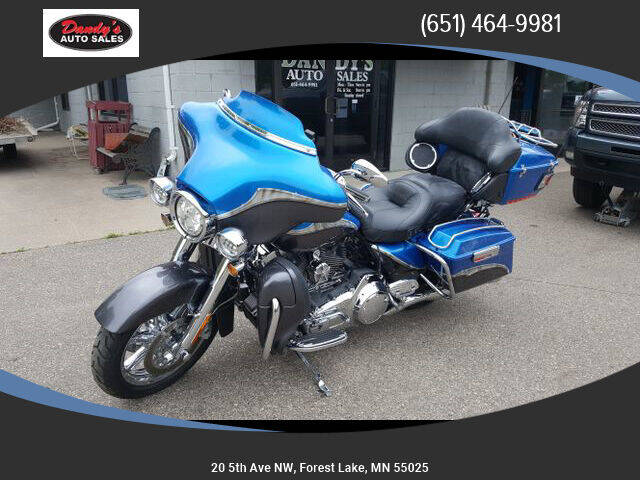 2012 HARLEY DAVIDSON FLHTCUSE7 for sale at Dandy's Auto Sales in Forest Lake MN