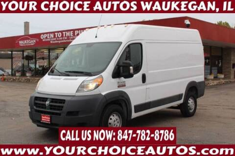 2017 RAM ProMaster Cargo for sale at Your Choice Autos - Waukegan in Waukegan IL