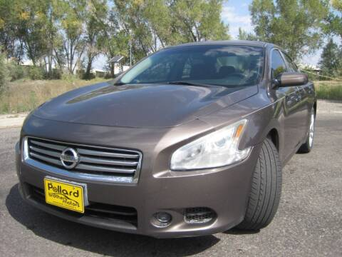 2013 Nissan Maxima for sale at Pollard Brothers Motors in Montrose CO