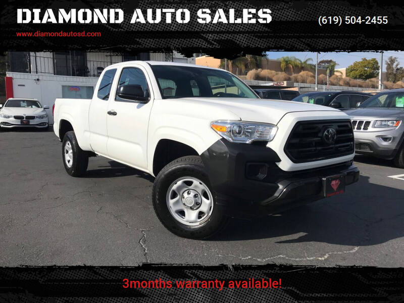 2018 Toyota Tacoma for sale at DIAMOND AUTO SALES in El Cajon CA